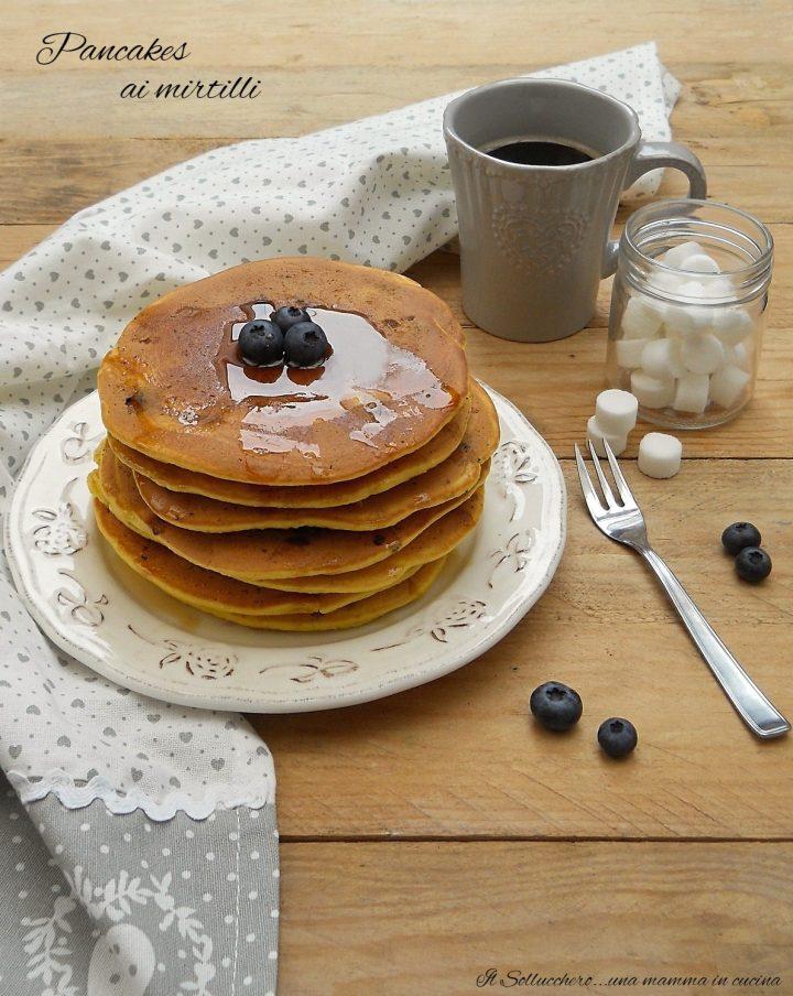 Pancakes ai Mirtilli – Blueberry Pancakes