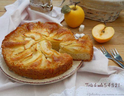 Torta di mele 5 4 3 2 1