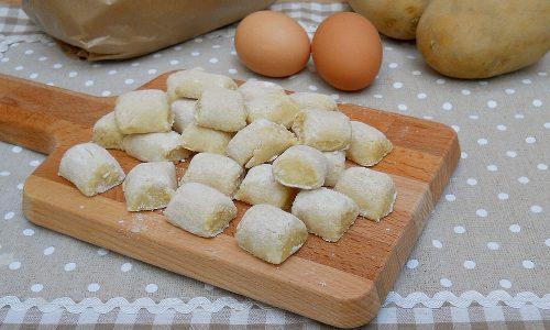 Gnocchi di patate, ricetta base