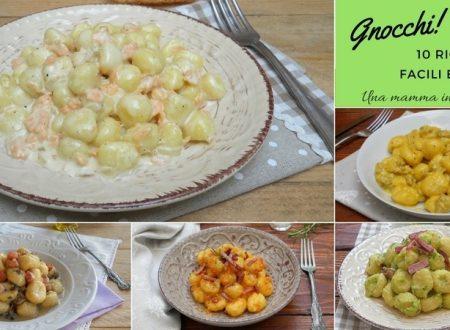 Gnocchi di patate: 10 ricette facili, veloci e super cremose