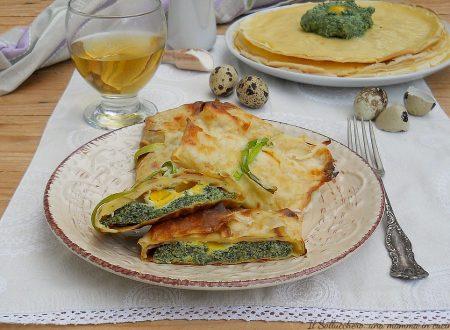 Crepes ricotta e spinaci con sorpresa