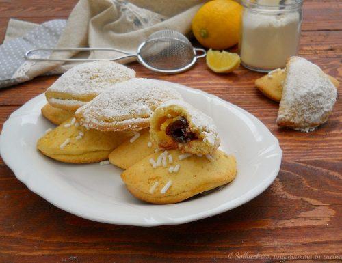 Raviole con crema pasticcera e amarene