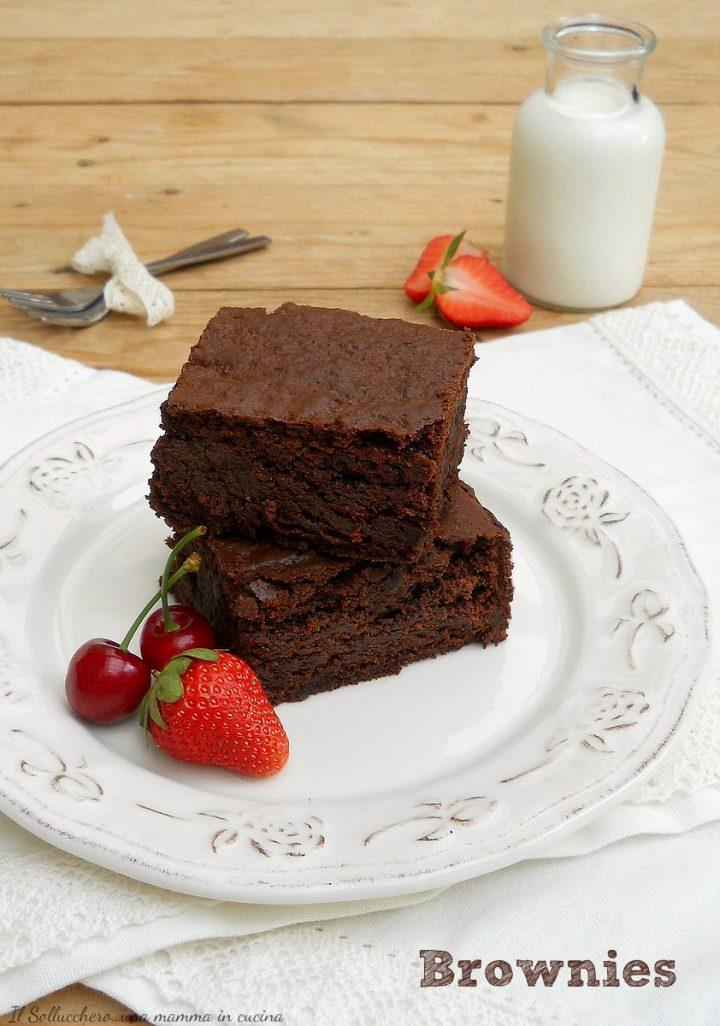 Brownies, Ricetta Originale Americana Perfetta!