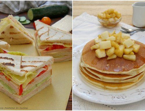 Menu americano per il contest Latti da Mangiare 4.0