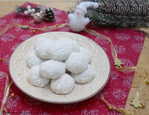 Palle di neve, deliziosi biscotti di Natale