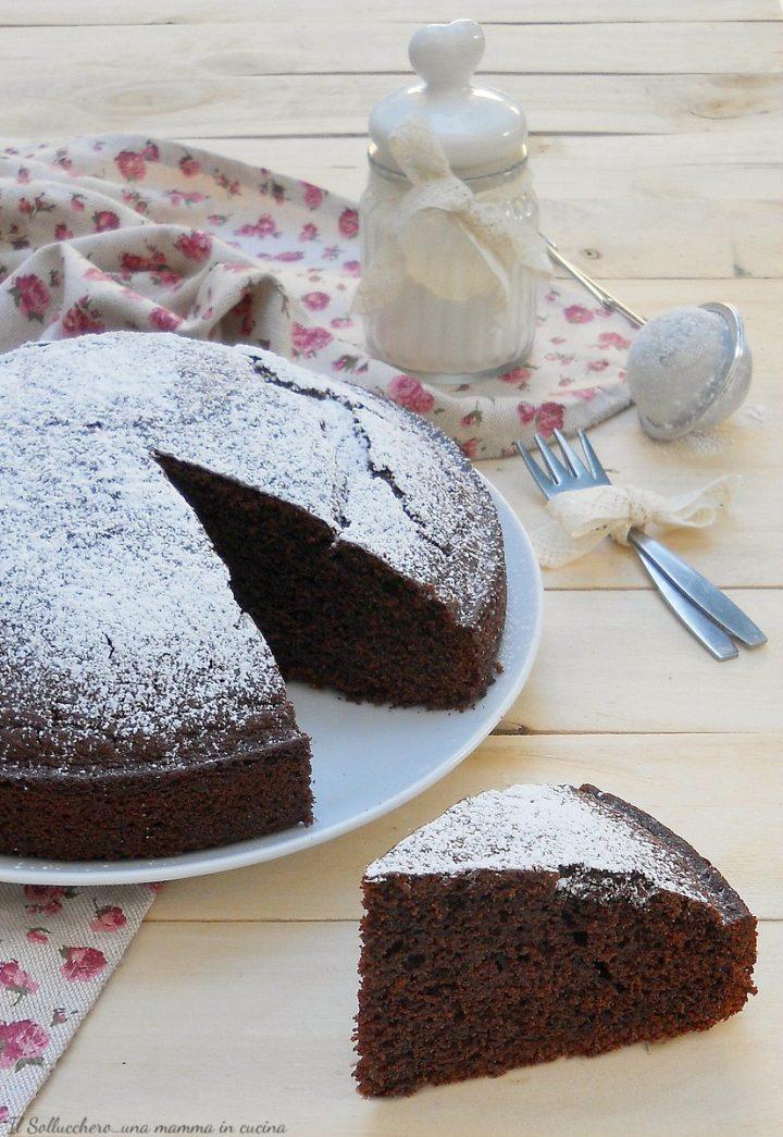 Ricette Torta Al Cioccolato Veloce.Torta 5 Minuti Al Cacao Ricetta Sofficissima E Senza Burro