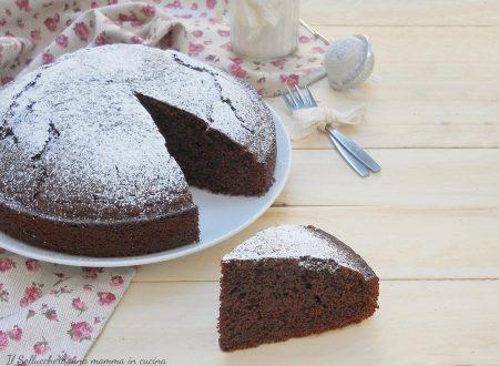 Torta 5 minuti al cacao, sofficissima e senza burro