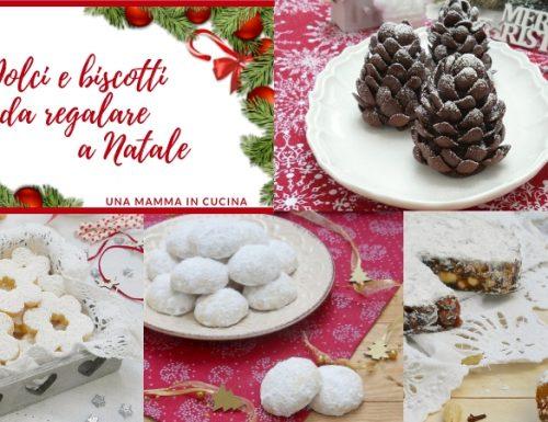 Dolci e biscotti da regalare a Natale