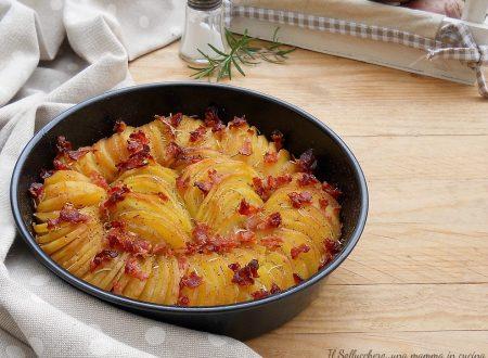 Patate arrosto con pancetta in teglia
