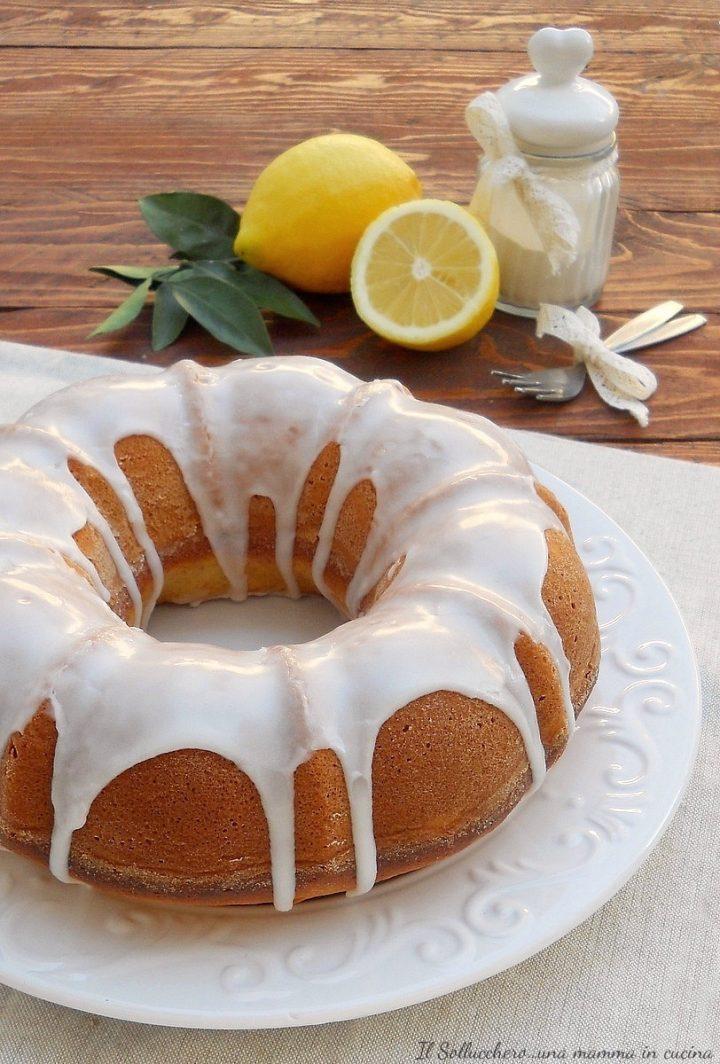 Ciambella Soffice al Limone e Yogurt