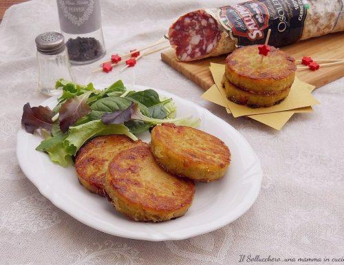 Rosti di patate e salame Osolemio Clai
