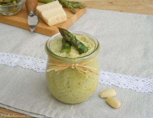 Crema di asparagi e ricotta