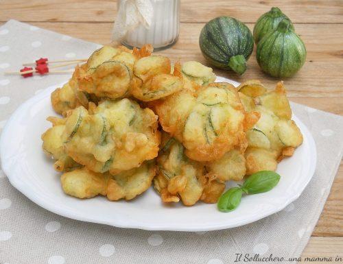 Frittelle di zucchine veloci, senza lievitazione