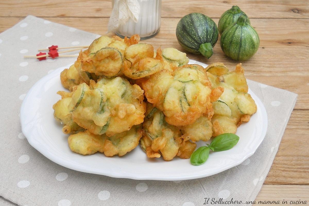 Frittelle di zucchine veloci