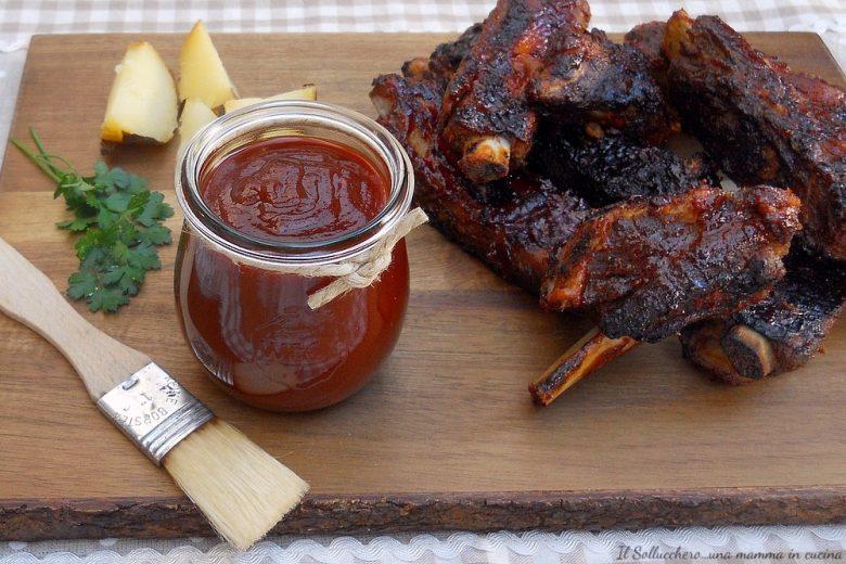 Salsa barbecue (BBQ sauce) ricetta originale americana