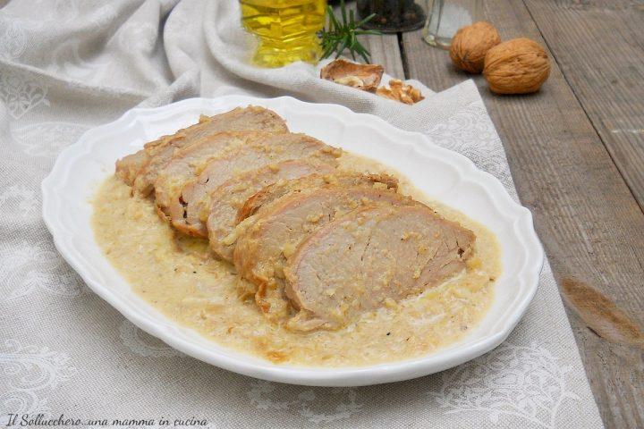 Filetto di maiale alle noci