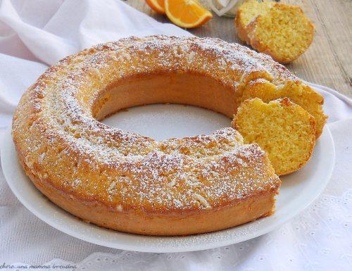 Ciambella 5 minuti all'arancia