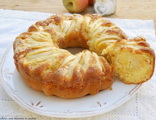 Ciambella 5 minuti alle mele