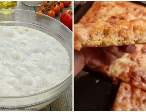 Pizza Bonci, ricetta pizza in teglia senza impasto