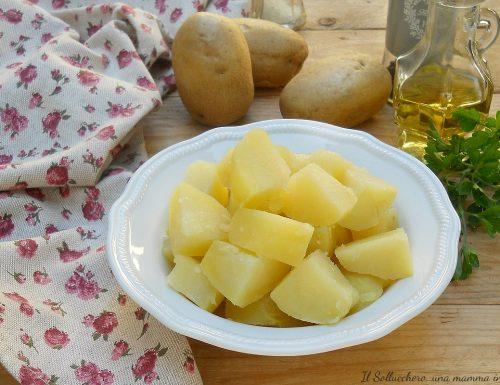 Come lessare le patate in 5 minuti