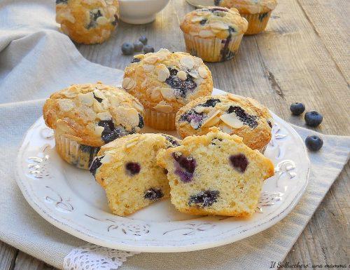 Muffin ai mirtilli, sofficissimi!