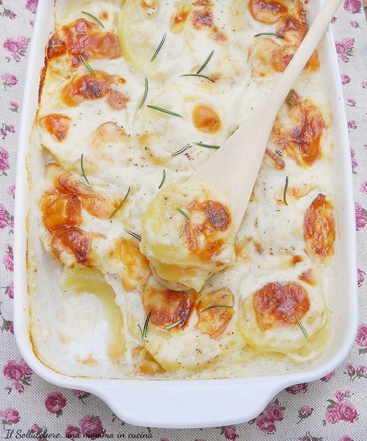 patate gratinate al forno particolare