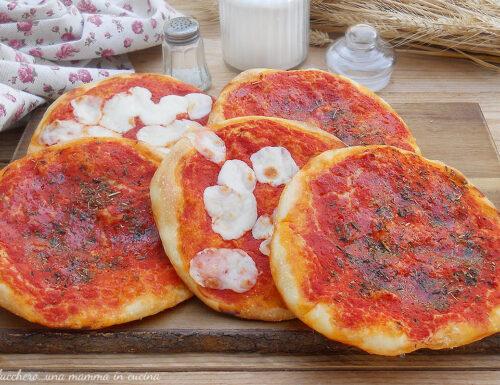 Pizzette rosse del forno