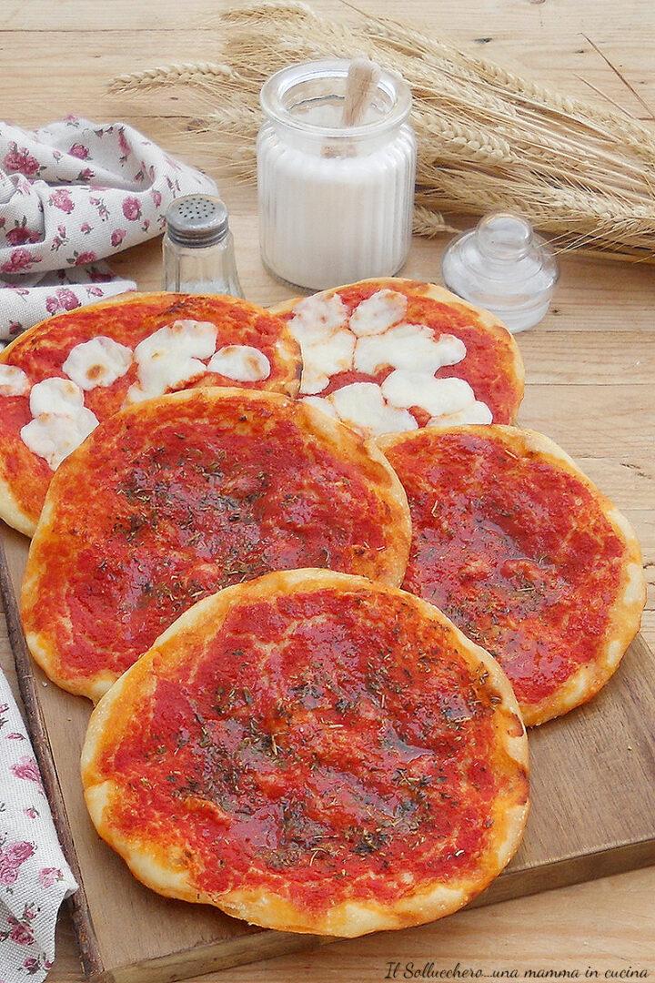 pizzette rosse del forno vert