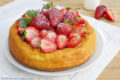 Cheesecake alle fragole e ricotta