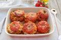 Pomodori ripieni di riso al forno