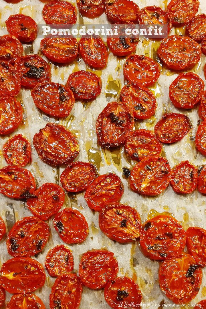pomodorini confit vert