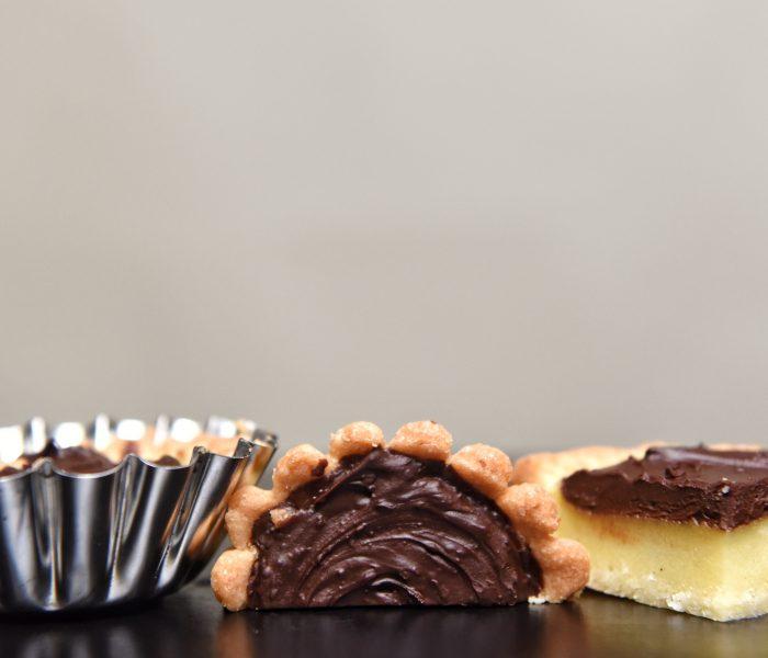 Torta di semolino e cioccolato