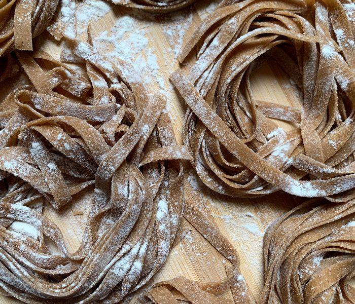 Tagliatelle alla farina di castagne
