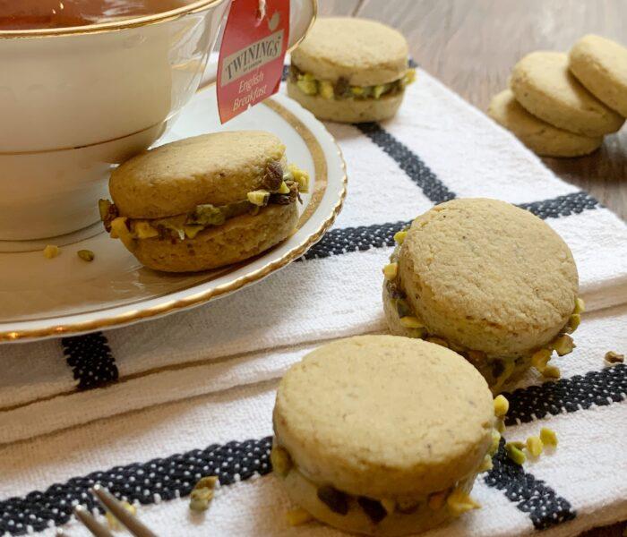 Biscotti al pistacchio e mandorle