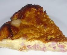 TORTA SALATA ALLA PANCETTA