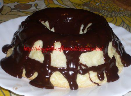 ANGEL FOOD CAKE ALLA NUTELLA