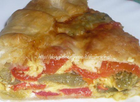 TORTA SALATA PEPERONI E SCAMORZA e…Contest e…