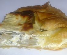 TORTA SALATA DI CARCIOFI E RICOTTA