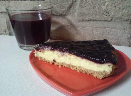 Cheesecake ai mirtilli – versione cottura in forno