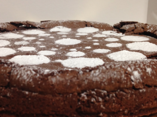 Torta cioccolatino o torta tenerina