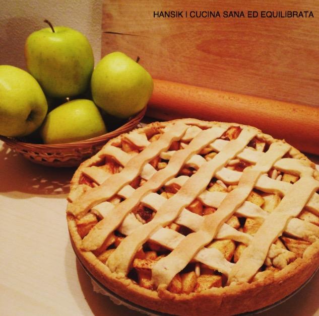 Crostata strudel : con ripieno di mele