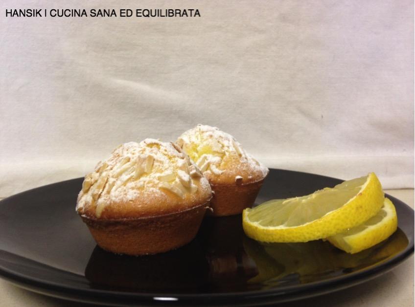 Muffin allo yogurt e limone