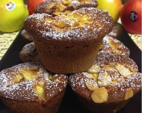 Muffin alle mele e cannella