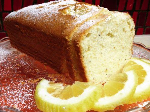 Plumcake al limone con soli albumi