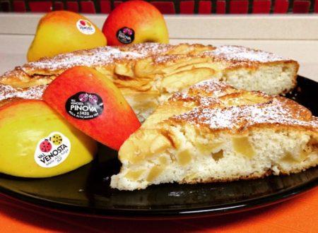 Torta di mele con albumi (con variante senza glutine)