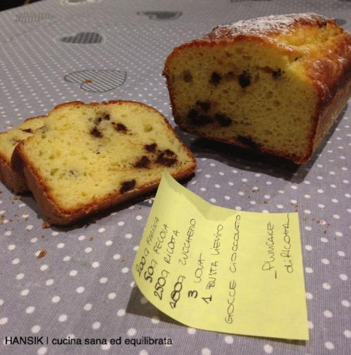 plumcake ricotta e gocce di cioccolato-4