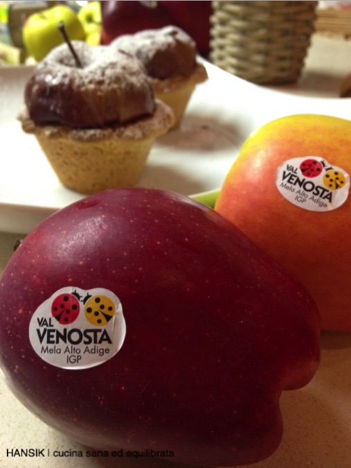 cestini di mele e noci