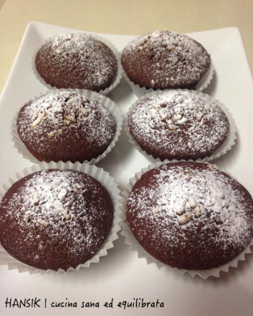 muffin al cioccolato e arancia