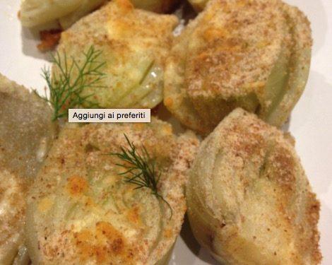 Finocchi gratinati al forno