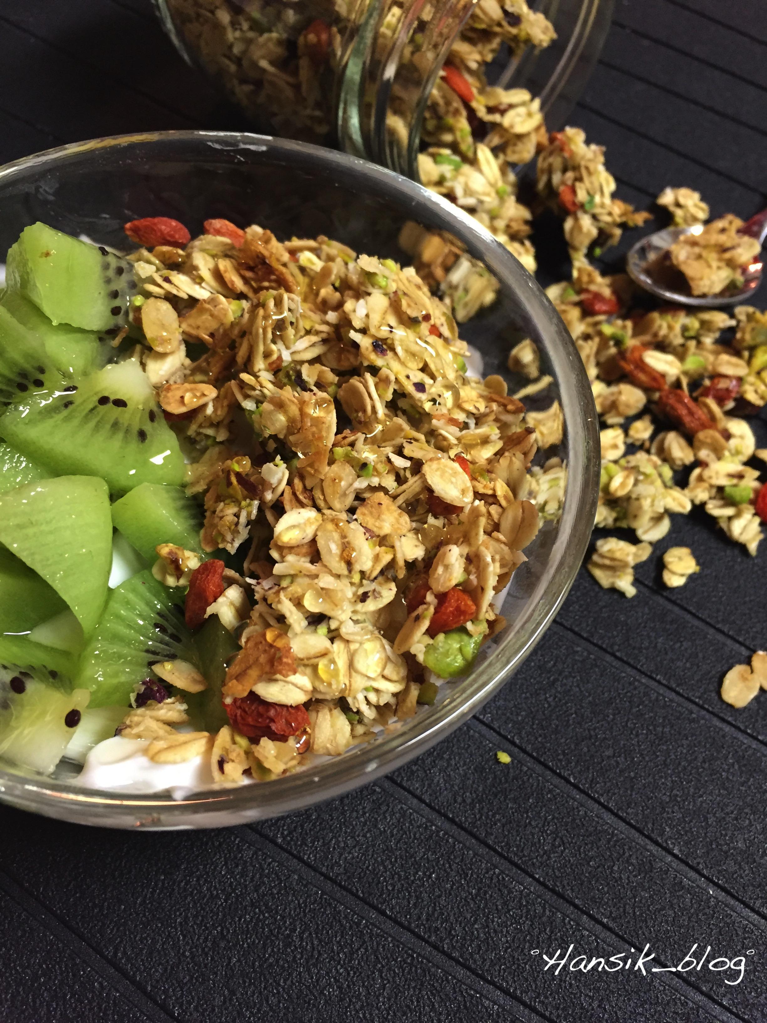 granola di pistacchi cocco e bacche di goji-7
